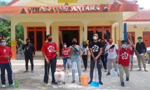 PSI Kabupaten Bekasi bersih-bersih Rumah Ibadah