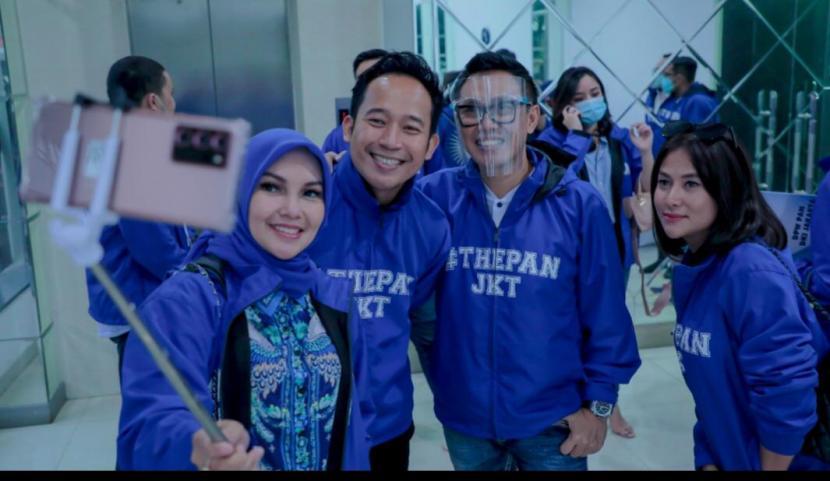 Denny Cagur Masuk Struktur Kepengurusan DPW PAN DKI