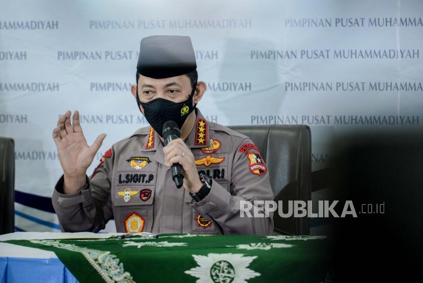 Kapolri Silaturahim ke Ketum Muhammadiyah di Yogyakarta