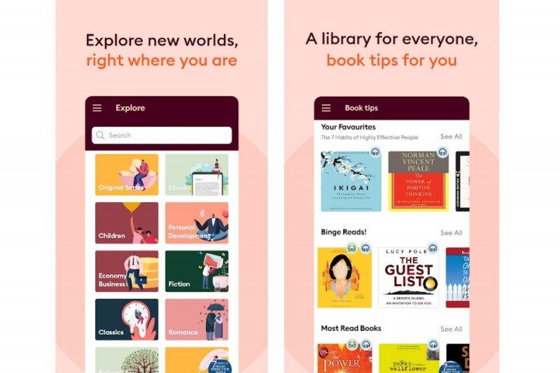 Audiobook Storytel masuk ke Indonesia tahun ini