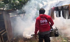 Dapat aduan masyarakat Soal DBD, PSI gerak Cepat lakukan Fogging