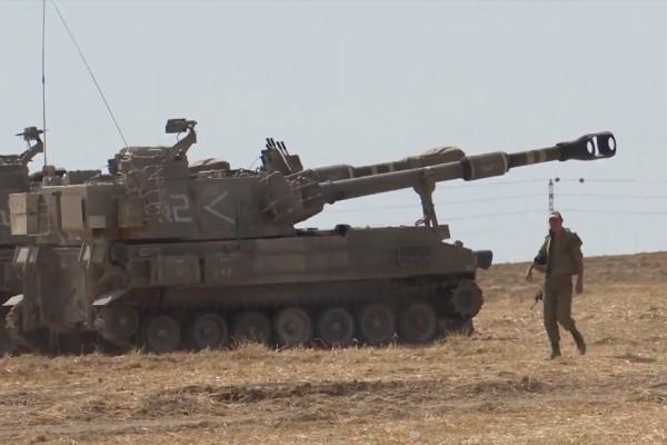 Pesawat tempur Israel serang pos militer Hamas di Gaza