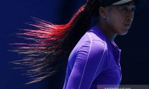 Petenis Naomi Osaka berlatih jelang laga perdana Olimpiade Tokyo 2020