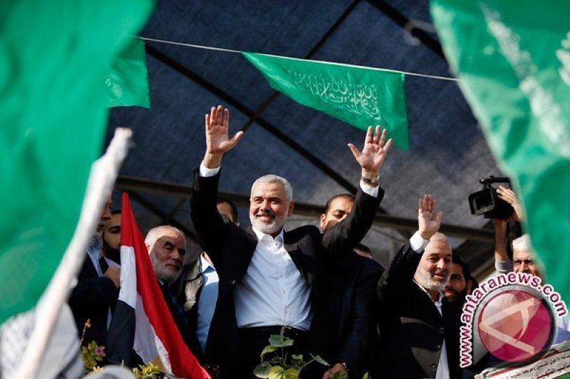 Haniyeh terpilih kembali sebagai ketua Hamas