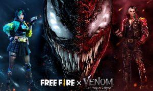 "Konten ""Venom: Let There Be Carnage"" akan hadir di game Free Fire"