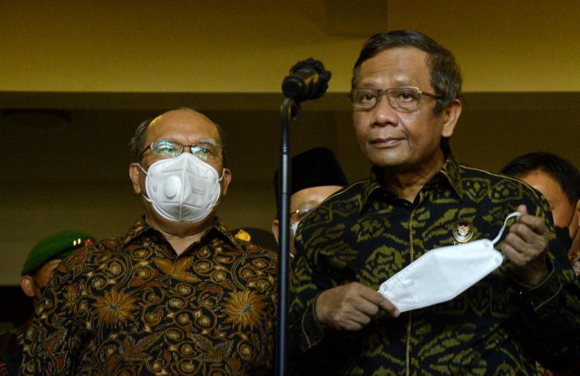 Mahfud: TNI-Polri Sudah Disiapkan Amankan Presidensi G20